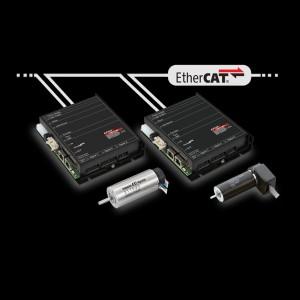 integración servo motor ethercat, motor dc, motor brushless
