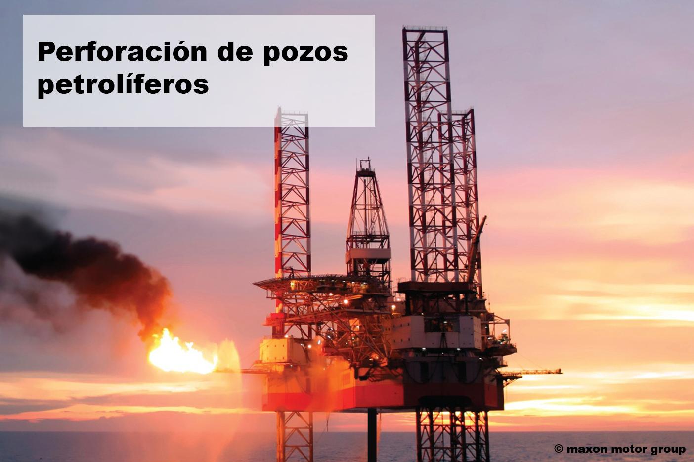 Motor de corriente continua pozos petrolíferos