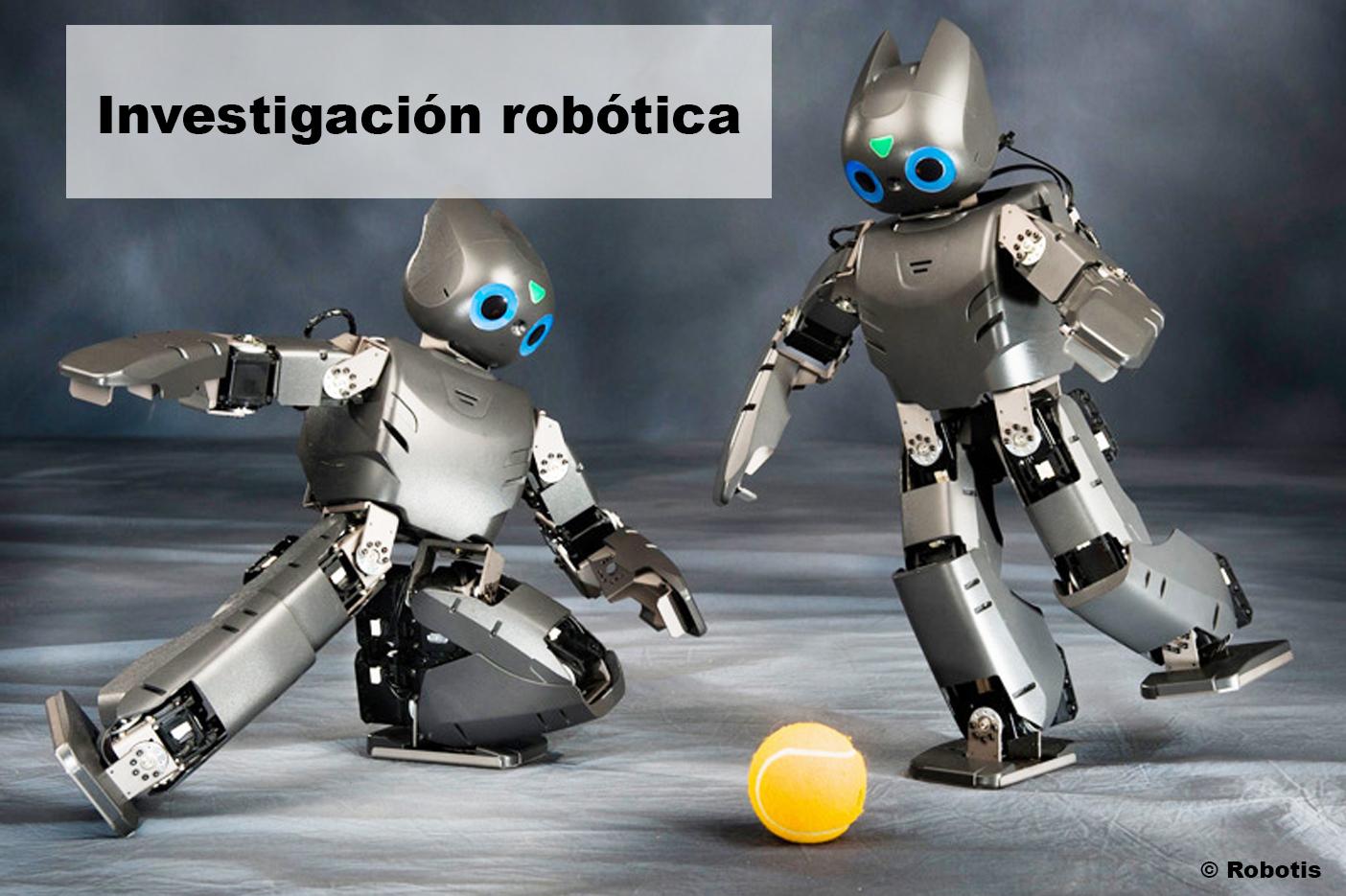 Motor cc en robótica