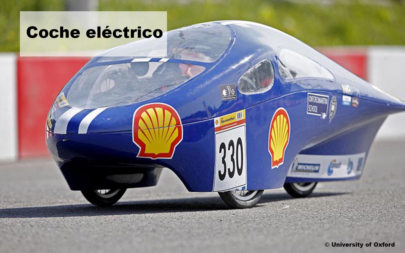 Motor de corriente continua en coche electrico