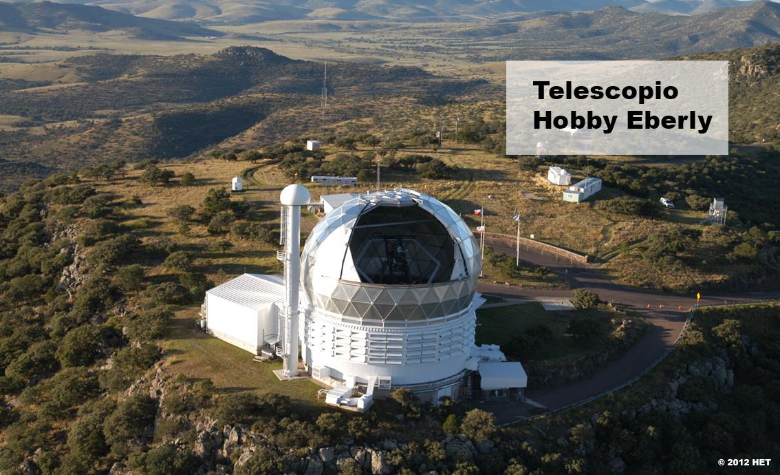 Motores de corriente continua en telescopio