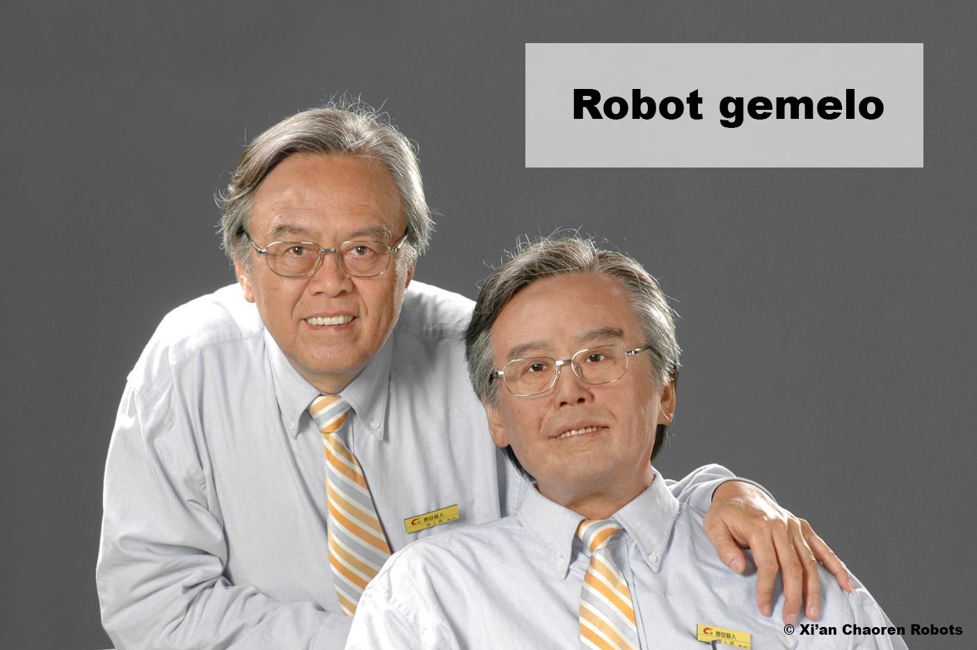 Motores continua en robot gemelo