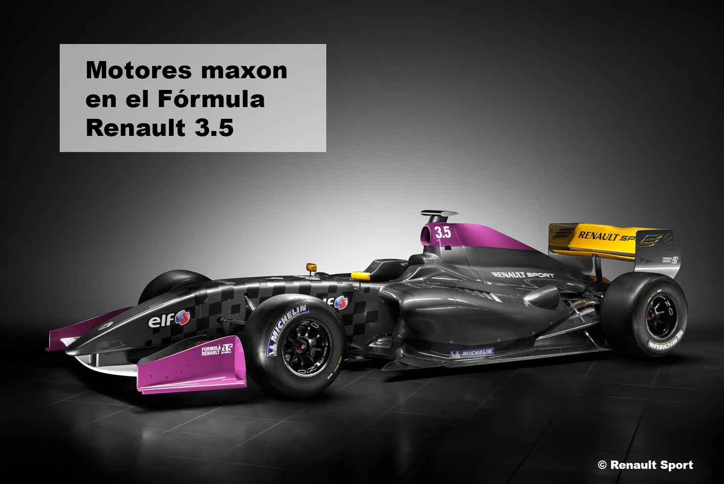 Motores dc Fórmula 1